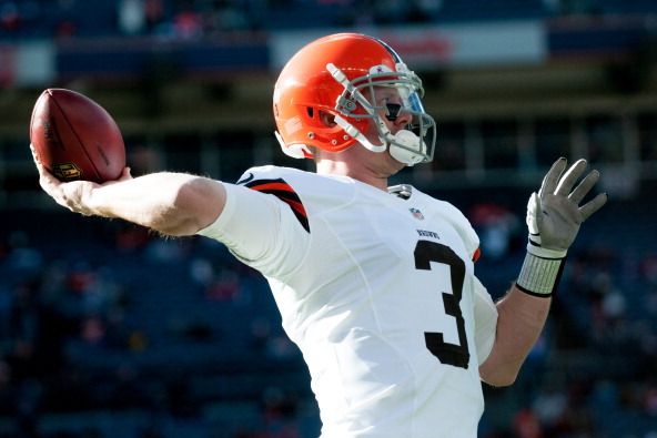 Brandon Weeden Still Heavy Favorite to Start for Browns
