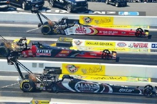 FYI WIRZ: NASCAR Reporter Feels NHRA Four Wide Power in Stock Car Territory