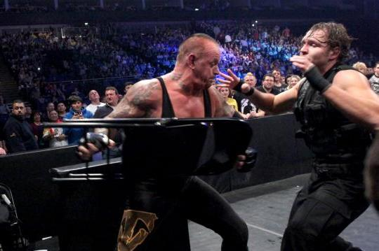 The Undertaker's Match with Dean Ambrose Is His Last on Television for Now