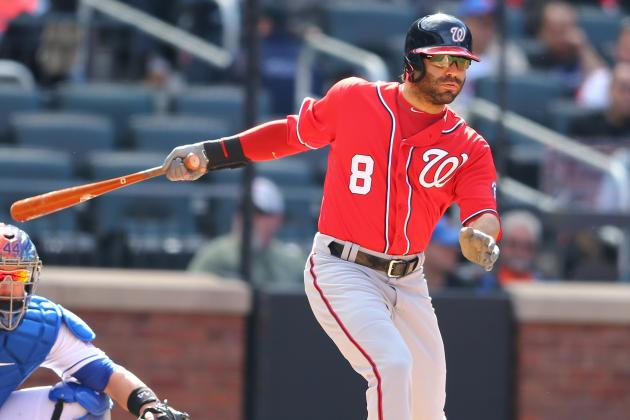Today's Nationals-Pirates Lineups: Denard Span Out, Danny Espinosa Leading off
