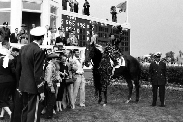 Kentucky Derby: Rare Photos from the 1955 Run for the Roses
