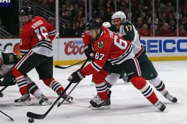 NHL Playoffs: Chicago Blackhawks Depth Evident in Game 2 Win over Minnesota Wild