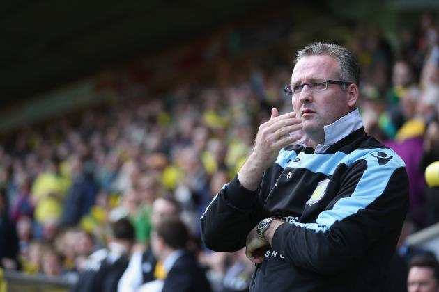 Paul Lambert Delighted with Aston Villas Performance Against Norwich