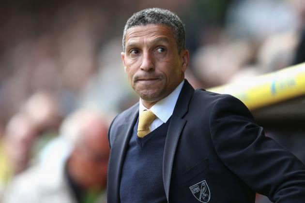 Norwich Boss Chris Hughton Admits 'Poor Goals' Cost His Side Against Aston Villa