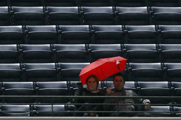 Braves-Mets Game Rained out Saturday