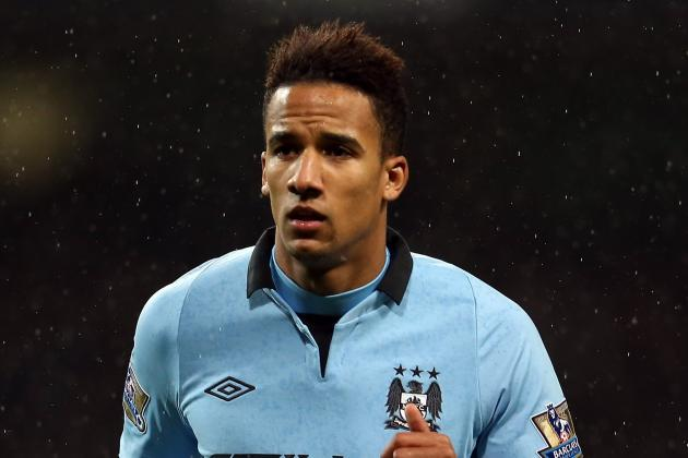 Manchester City Winger Scott Sinclair Treated in Hospital for Blood Clot