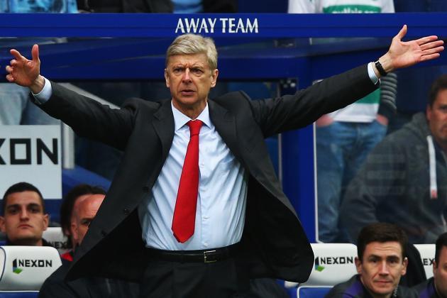 Arsene Wenger Praises Theo Walcott After Arsenal Beat QPR 1-0