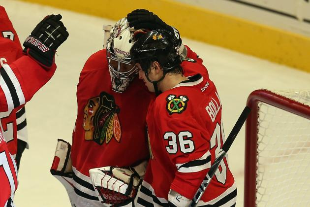 Update: Chicago's Bolland, Emery out Again for Game 3