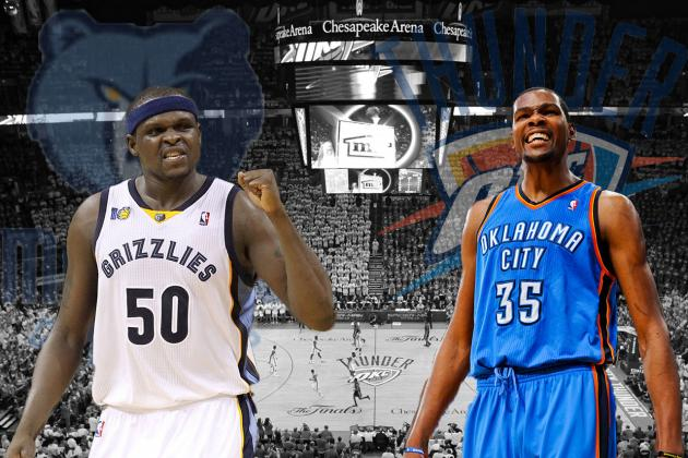 Memphis Grizzlies vs. OKC Thunder: Western Conference Semifinals Preview