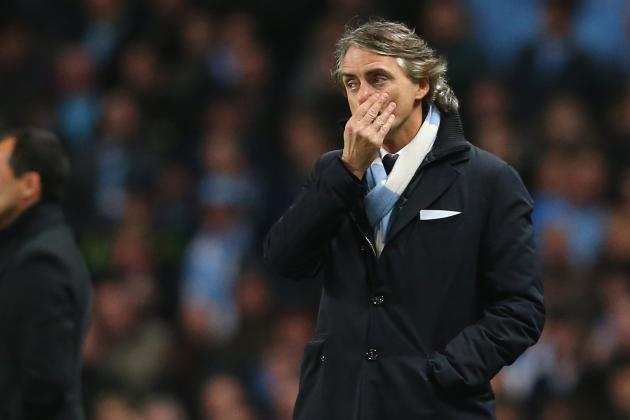 Roberto Mancini Frustrated by Missed Chances in 0-0 Draw at Swansea