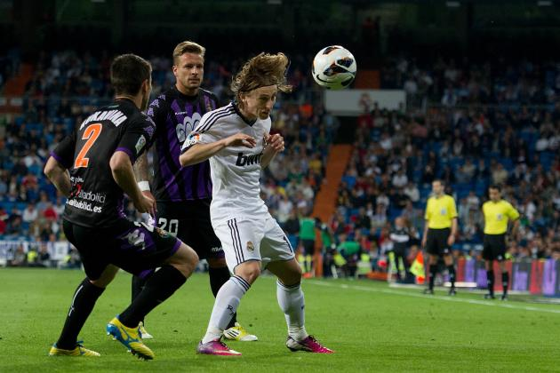 Luka Modric Is Beginning to Look Like a Real Madrid Player After Difficult Year