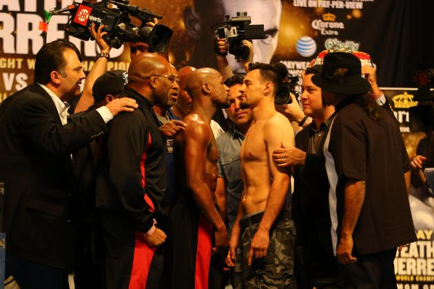 Mayweather vs. Guerrero Start Time: When and How to Watch Money vs. The Ghost