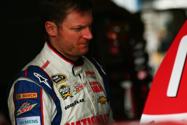 Earnhardt Regrets Angry Words Post-Talladega Crash