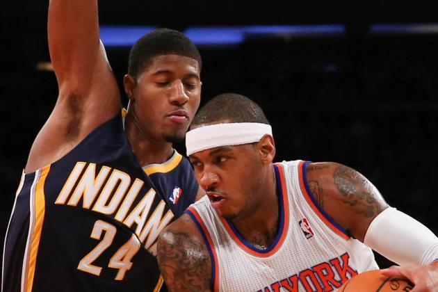 Pacers-Knicks Matchup to Watch Features Paul George-Carmelo Anthony