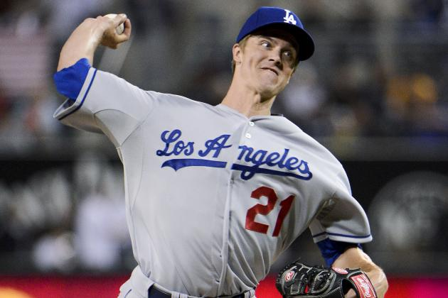Dodgers' Zack Greinke Throws Full Bullpen Session on Saturday
