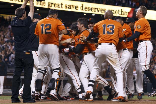 Posey Takes Beating After First Career Walk-off Beats Dodgers