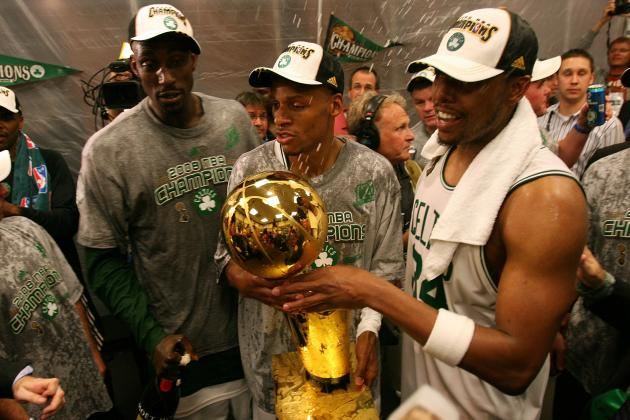 Timeline of Boston Celtics' Big 3 as We Knew Them