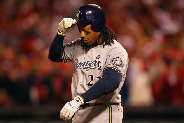 Brewers Update:  Time to Drop Rickie Weeks to Backend of Lineup