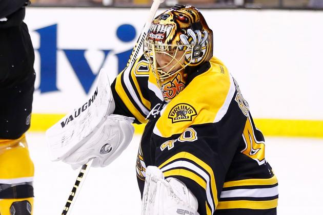 Video: Tuukka Rask Survives Leafs' Barrage