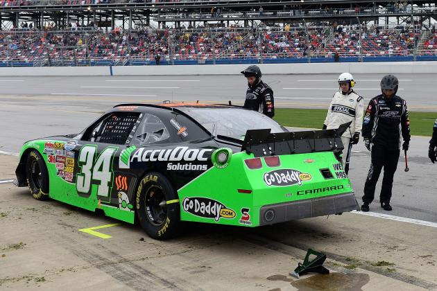 Danica Patrick Wrecks Early at Talladega, Finishes 39th out of 40 Cars
