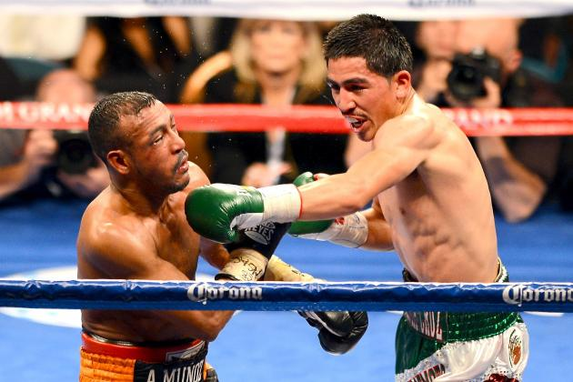Leo Santa Cruz vs. Alexander Munoz: Round-by-Round Analysis and Recap