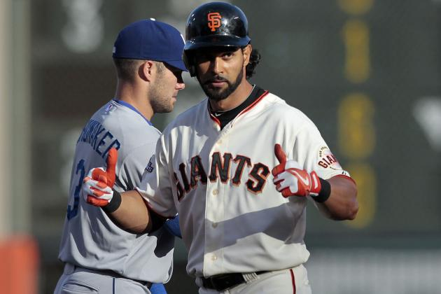 Giants Lose Angel Pagan in 5th
