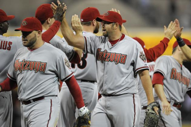 Diamondbacks 8, Padres 1