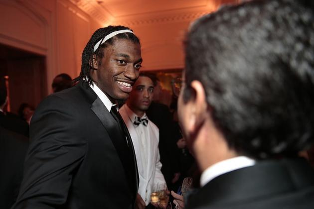 Washington Redskins Owner Dan Snyder and Robert Griffin III: The Odd Couple