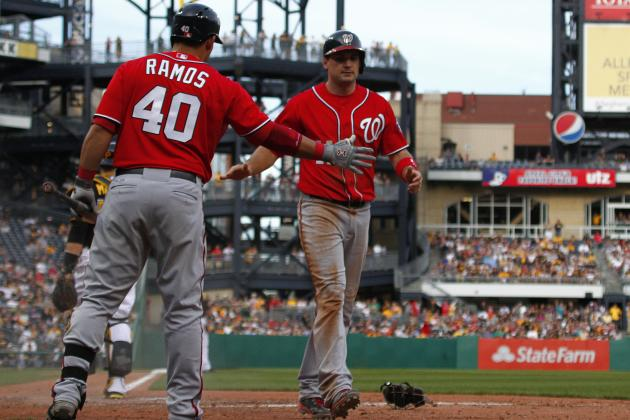 Nationals double-steal their way to victory