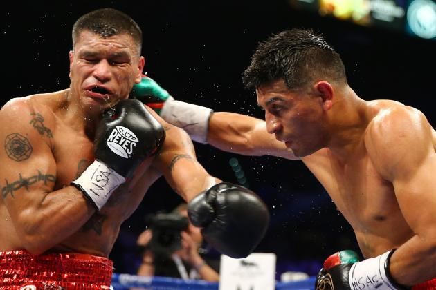 Abner Mares Dominated and Stopped Daniel Ponce De Leon