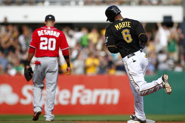 On the Pirates: Marte Digging in at No. 1