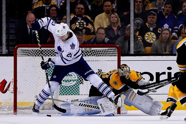 James Van Riemsdyk Scores Incredible Goal to Ice Game 2 for Leafs (Video)