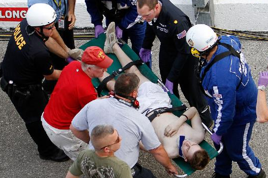 Tragedy, Crashes Leave Talladega on High Alert