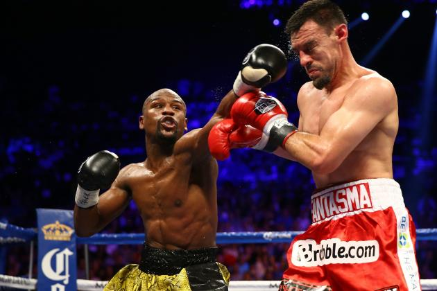 Mayweather vs. Guerrero Results: Money Defeats the Ghost Via Unanimous Decision