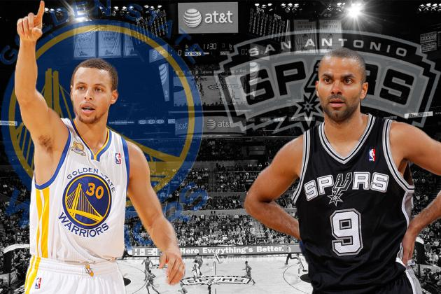 Golden State Warriors vs. San Antonio Spurs: Western Conference Semis Preview