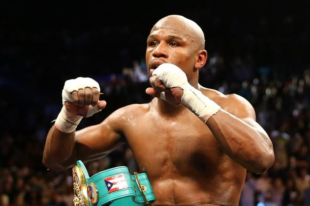 Floyd Mayweather vs. Robert Guerrero Results: Most Exciting Rounds from Fight