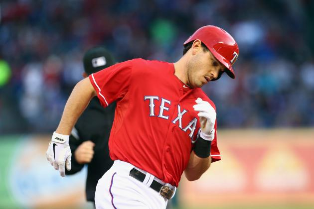 Ogando, Gentry Keep Rangers Clicking as Red Sox Fall 5-1