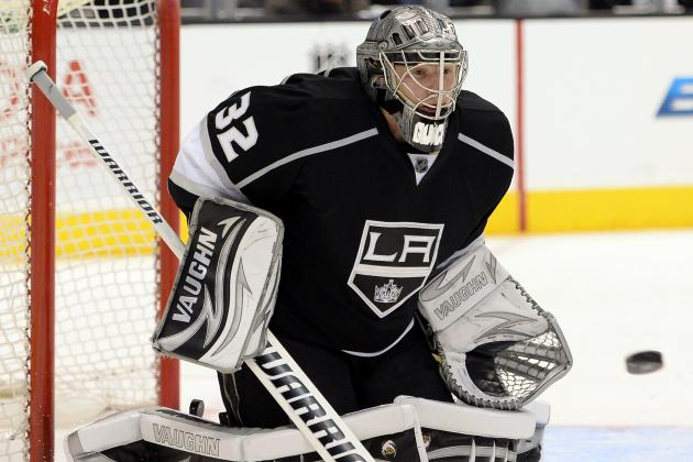 Quick Gets Shutout as Kings Trim Blues Lead