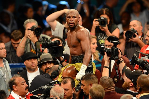 Floyd Mayweather's Performance on Saturday Night Was Among Best of His Career