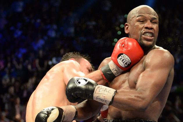 Mayweather vs. Guerrero Results: Breaking Down the Ghost's Best Rounds