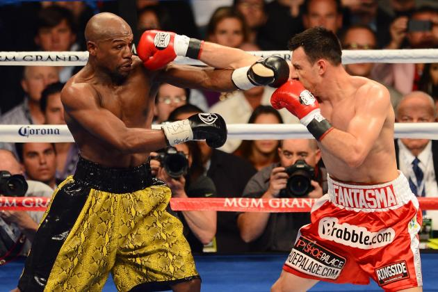 Mayweather Fight 2013: Key Statistics from Money's Victory over Robert Guerrero