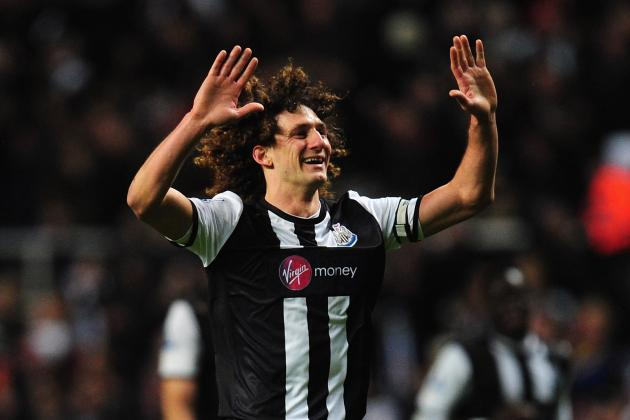 Cheick Tiote: Fabricio Coloccini Will Be Vital in Last Two Matches