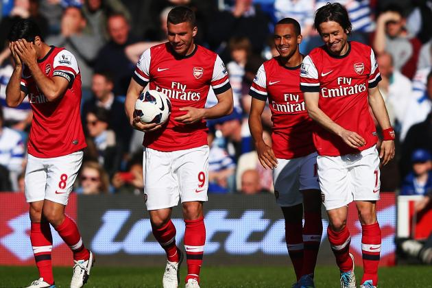 Arsenal Closing on Top-4 EPL Finish as Chelsea, Tottenham Move Toward Showdown