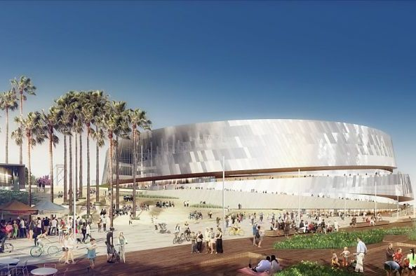 Warriors Alter Waterfront Arena Design