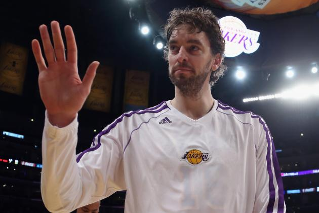 Report Lakers Plan A Is to Bring Back Team with Gasol