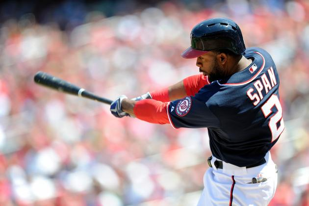 Span Returns After Missing 1 Game with Bruised Ankle
