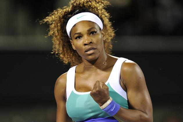 'Sluggish' Serena Advances with 2-Set Win