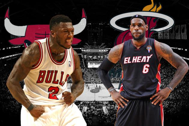 Chicago Bulls vs. Miami Heat: Eastern Conference Semifinals Preview