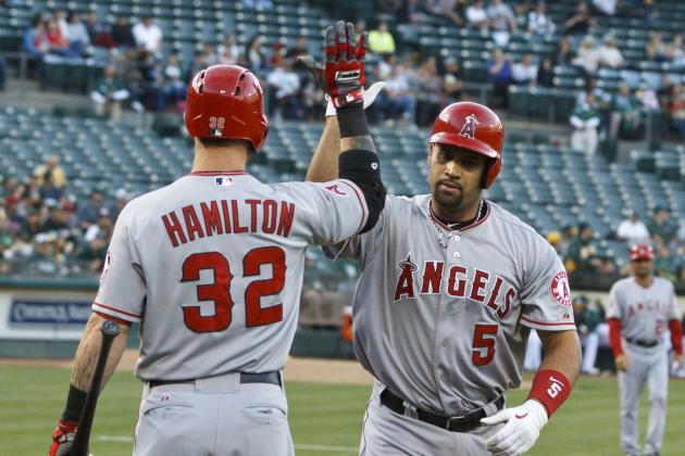 Pujols Out of Today Lineup vs. O's; Hamilton Returns Batting 3rd