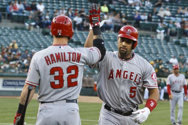 Sunday's Lineups: Pujols Out, Hamilton Returns